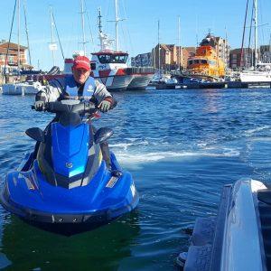 RYA PWC Jet Ski Course On Water Training Hartlepool Marina
